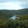 見晴らし台から見た八丁池