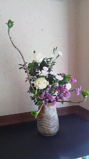 本日のお店の花